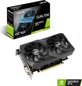 Grafična kartica ASUS GeForce GTX 1660 SUPER OC DUAL MINI, 6GB GDDR6, PCI-E 3.0