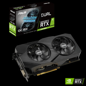 Grafična kartica ASUS GeForce RTX 2060 SUPER DUAL OC, 8GB GDDR6, PCI-E 3.0