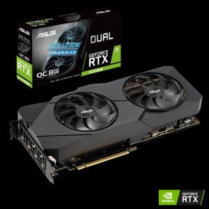 Grafična kartica ASUS GeForce RTX 2070 SUPER DUAL EVO OC, 8GB GDDR6, PCI-E 3.0