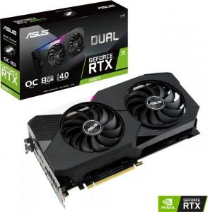 Grafična kartica ASUS GeForce RTX 3060 Ti DUAL OC V2, 8GB GDDR6, PCI-E 4.0
