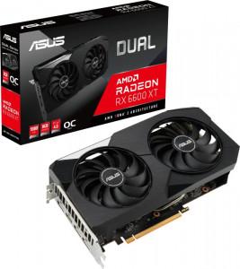 Grafična kartica ASUS TUF RX 6600 XT OC DUAL, 8GB GDDR6, PCI-E 4.0