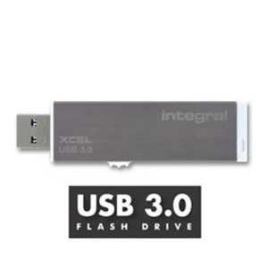 INTEGRAL XCEL 64GB USB3.0 siv spominski ključek