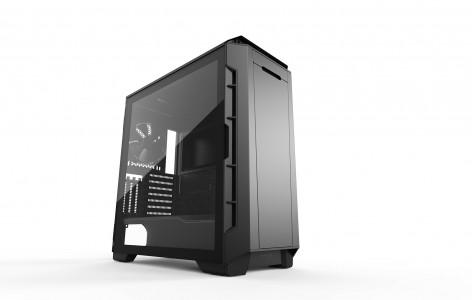 PHANTEKS ECLIPSE P600S Silent TEMPERED GLASS USB3 EATX črno ohišje