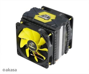 Akasa Venom Voodoo, hladilnik za desktop procesorje INTEL/AMD
