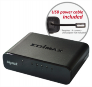 Edimax ES-5500G V3 5 portni Gigabit switch