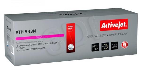 ActiveJet magenta toner HP 125A/CB543A Canon CRG-716M