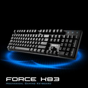 GIGABYTE FORCE K83 CHERRY MX mehanska gaming tipkovnica, slovenska