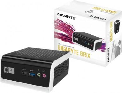 "GIGABYTE BRIX PC NUC kit Celeron N4000, 2.5"" HDD/SSD, WiFi & Bluetooth"