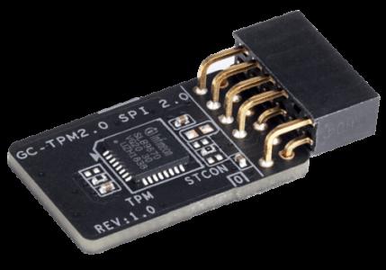 GIGABYTE Trusted Platform Module GC-TPM2.0 SPI 2.0 modul