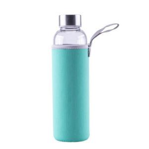 Steuber steklena flaška v etuiju 550ml, zelena