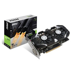 Grafična kartica MSI GeForce GTX 1050 Ti 4GT OC, 4GB GDDR5, PCI-E 3.0