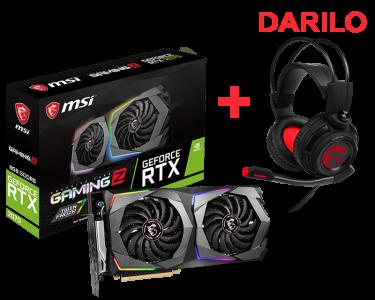 Grafična kartica MSI GeForce RTX 2070 GAMING Z 8G, 8GB GDDR6, PCI-E 3.0