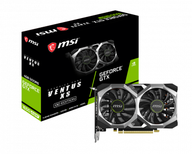 Grafična kartica MSI GeForce GTX 1650 SUPER VENTUS XS OC, 4GB GDDR6, PCI-E 3.0