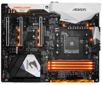 GIGABYTE GA-AX370-GAMING 5, DDR4, SATA3, USB3.1Gen2, AM4 ATX