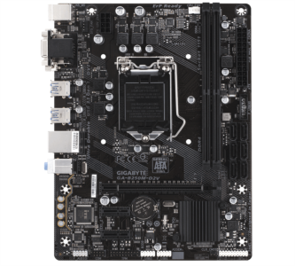 GIGABYTE GA-B250M-D2V, DDR4, SATA3, USB3.1Gen1, DVI, LGA1151 mATX
