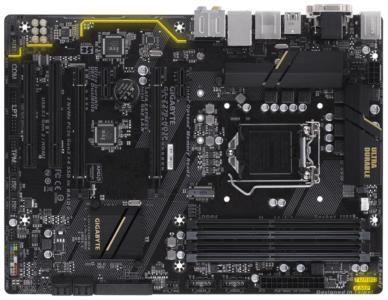 GIGABYTE GA-Z270-HD3P, DDR4, SATA3, USB3.1Gen2, HDMI, LGA1151 ATX