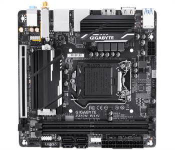 GIGABYTE Z370N WIFI, DDR4, SATA3, USB3.1Gen1, HDMI, DualLAN, WiFi, LGA1151 mini ITX