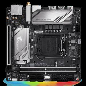 GIGABYTE Z390 I AORUS PRO WIFI, DDR4, SATA3, USB3.1Gen2, DP, WiFi, LGA1151, mini ITX