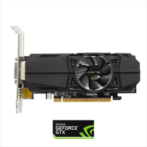 Grafična kartica GIGABYTE GeForce GTX 1050 Low profile, 2GB GDDR5, PCI-E 3.0