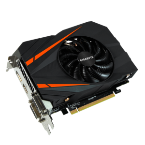 Grafična kartica GIGABYTE GeForce GTX 1060 Mini ITX OC, 6GB GDDR5, PCI-E 3.0
