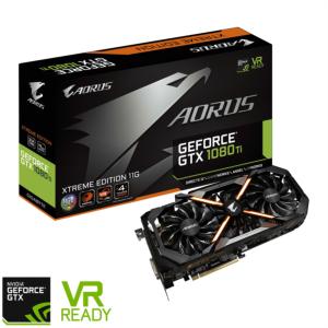 Grafična kartica GIGABYTE GeForce GTX 1080 Ti Aorus Xtreme, 11GB GDDR5X, PCI-E 3.0
