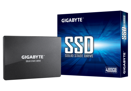 """GIGABYTE SSD NAND 480GB SATA3 2.5"""" disk"""