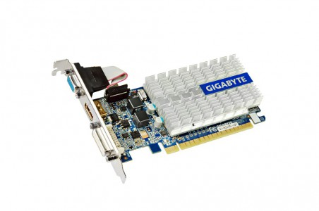 Grafična kartica GIGABYTE GeForce 210, 1GB GDDR3, PCI-E 2.0