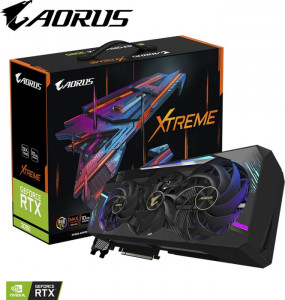 Grafična kartica GIGABYTE AORUS GeForce RTX 3080 XTREME 10G, 10GB GDDR6X, PCI-E 4.0