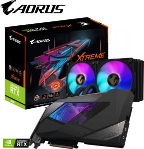Grafična kartica GIGABYTE GeForce RTX 3090 XTREME WATERFORCE 24G, 24GB GDDR6X, PCI-E 4.0