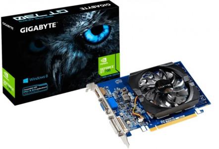 Grafična kartica GIGABYTE GeForce GT 730, 2GB GDDR3, PCI-E 2.0