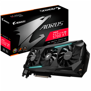 Grafična kartica GIGABYTE Radeon RX 5700 XT AORUS 8G, 8GB GDDR6, PCI-E 4.0
