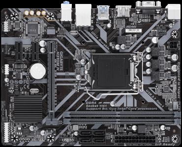 GIGABYTE H310M H, DDR4, SATA3, HDMI, USB3.1Gen1, LGA1151 mATX