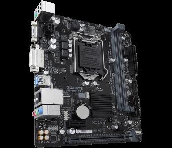 GIGABYTE H310M S2V, DDR4, SATA3, DVI, USB3.1Gen1, LGA1151 mATX