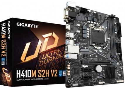 GIGABYTE H410M S2H V2, DDR4, SATA3, HDMI, USB3.2Gen1, LGA1200 mATX