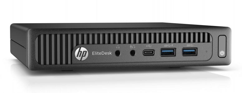HP EliteDesk 800 G2 Tiny i5-6500 8GB 256GB SSD Windows 10 Pro - obnovljen računalnik