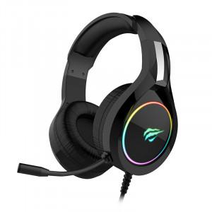 HAVIT Gamenote RGB LED slušalke z mikrofonom HV-H2232d