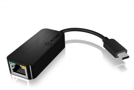 Icybox USB mrežna kartica/adapter iz USB-C 3.0 na Gigabit Ethernet