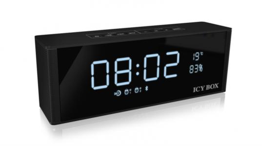 Icybox Bluetooth FM radio, ura, zvočnik, alarm in MP3 predvajalnik