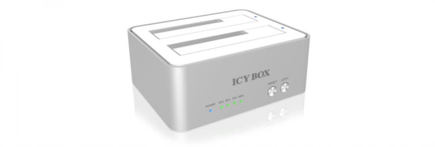"Icybox IB-120CL-U3 docking & clone station za 2,5"" in 3,5"" diske"