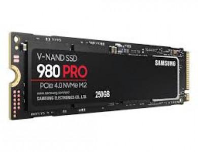 Samsung 250GB 980 PRO SSD PCI-e 4.0 x4 NVMe disk