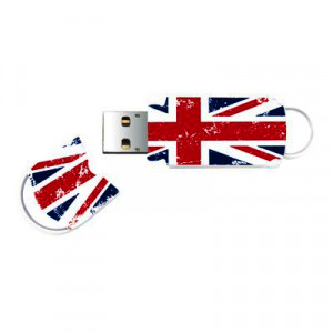Integral USB 32GB 2.0. Xpression Union Jack