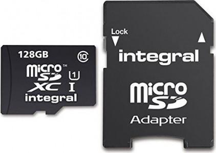 INTEGRAL UltimaPro microSDHC/XC 90MB Class 10 UHS-I U1