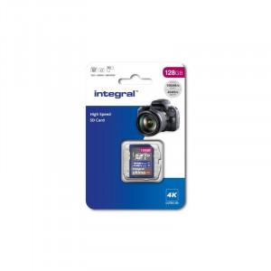 Integral 128GB High Speed SDHC/XC V30 UHS-I U3