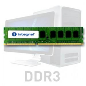 Integral 4GB DDR3-1066 UDIMM PC3-8500 CL7, 1.5V ECC