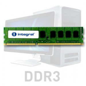Integral 2GB DDR3-1333 UDIMM PC3-10600 CL9, 1.5V