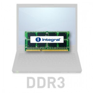 Integral 8GB DDR3-1600 SODIMM PC3-12800 CL11, 1.35V