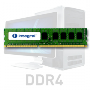 Integral 8GB DDR4-2400 UDIMM PC4-19200 CL17, 1.2V