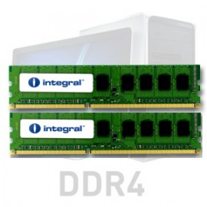 Integral 32GB Kit (2x16GB) DDR4-2666 UDIMM PC4-21300 CL19, 1.2V