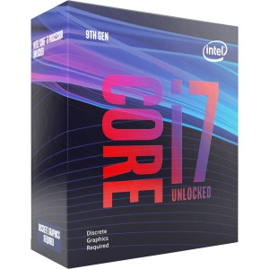 Intel Core i7 9700KF BOX procesor, Coffee Lake