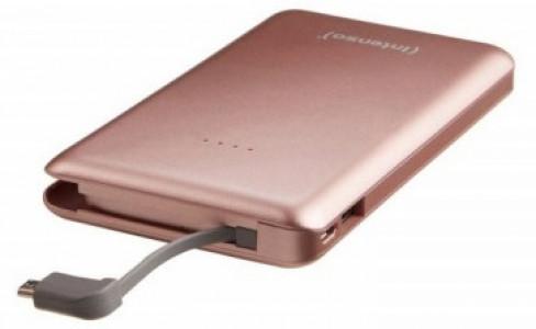 Intenso S 10000mAh prenosna baterija - Roza